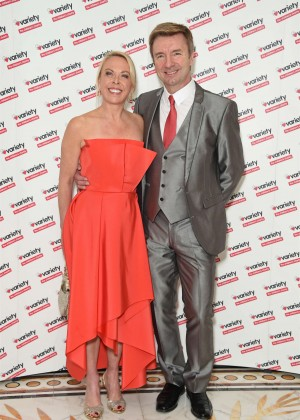 Jayne Torvill - Torvill & Dean Tribute Lunch in aid of Variety in London