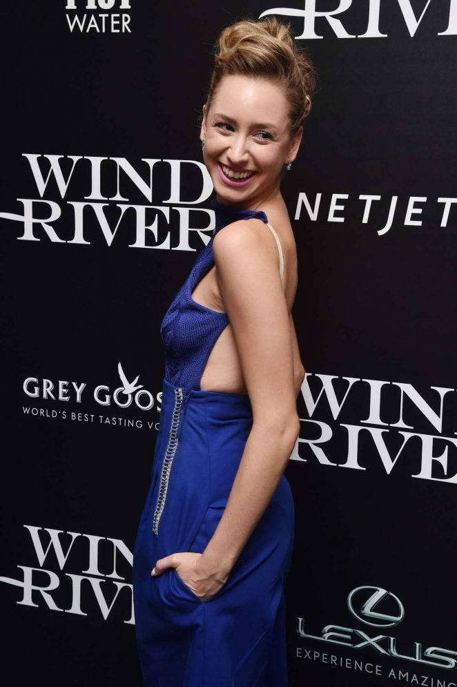 Jazmin Grace Grimaldi: Wind River Screening in New York -02