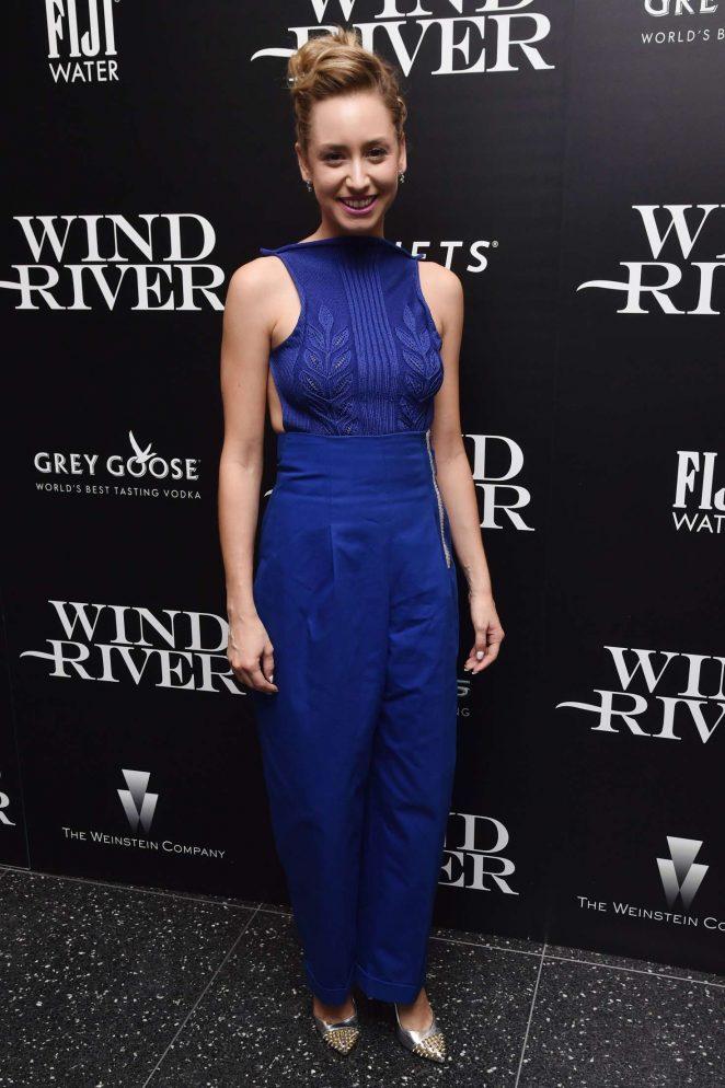 Jazmin Grace Grimaldi: Wind River Screening in New York -05