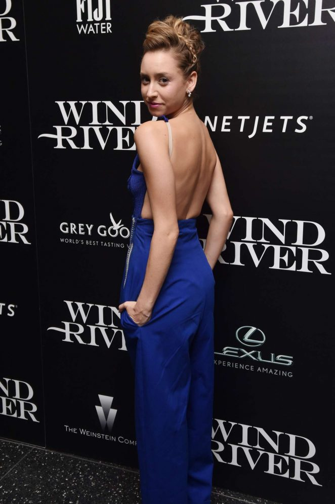Jazmin Grace Grimaldi: Wind River Screening in New York -09