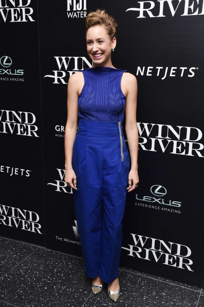 Jazmin Grace Grimaldi: Wind River Screening in New York -10