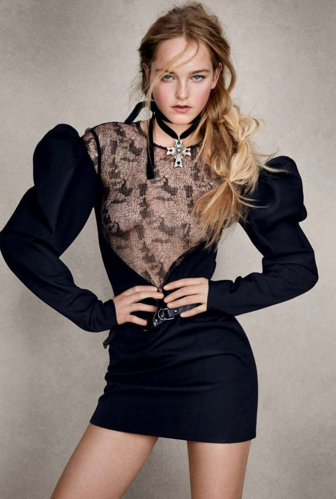 Jean Campbell - Vogue Germany Magazine (March 2017)