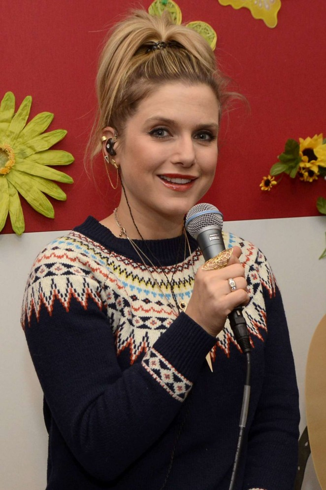 Jeanette Biedermann - Promotiontermin Radio FFN in Hanover