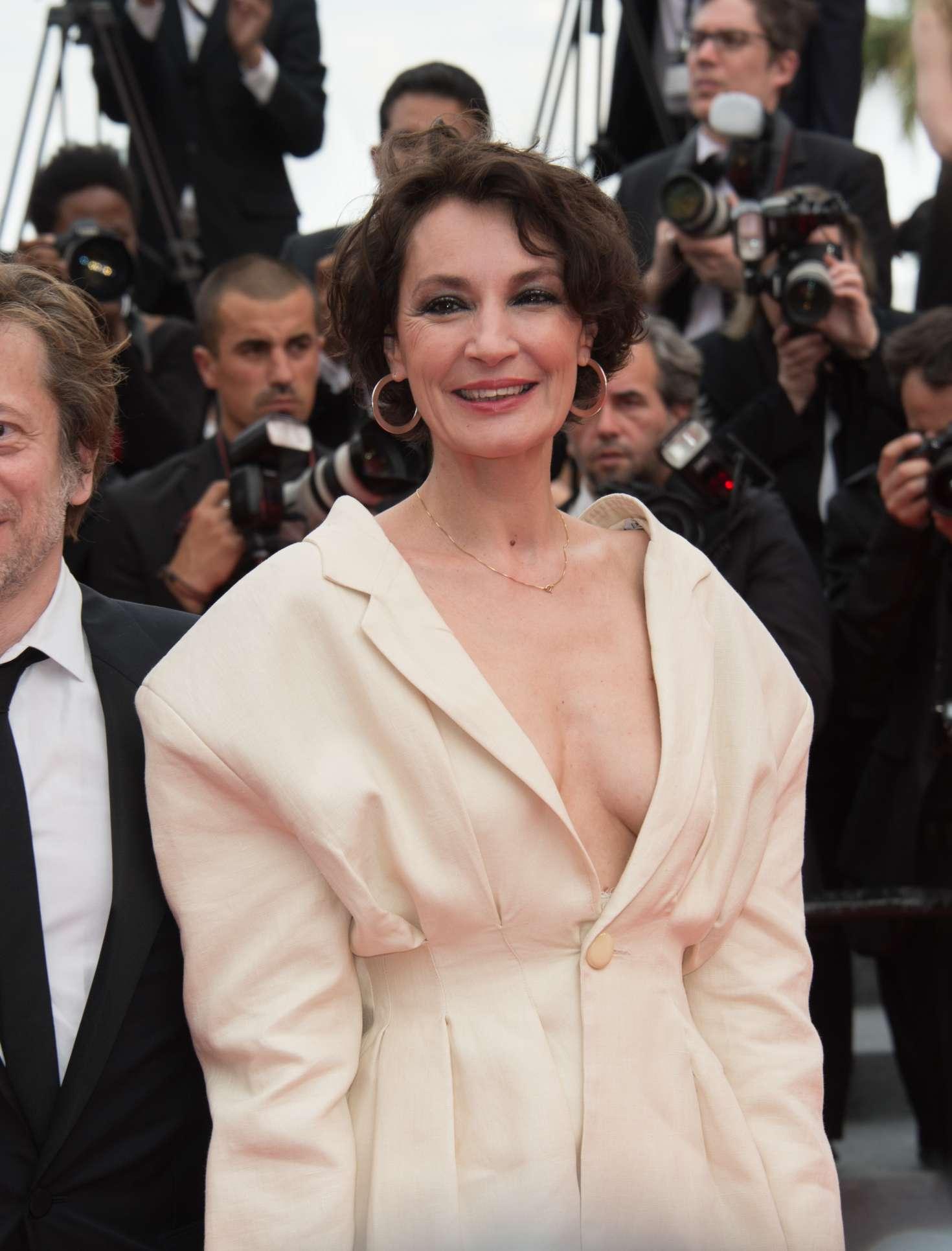 Jeanne Balibar – 'Loveless' Premiere at 70th Cannes Film Festival in France  – GotCeleb