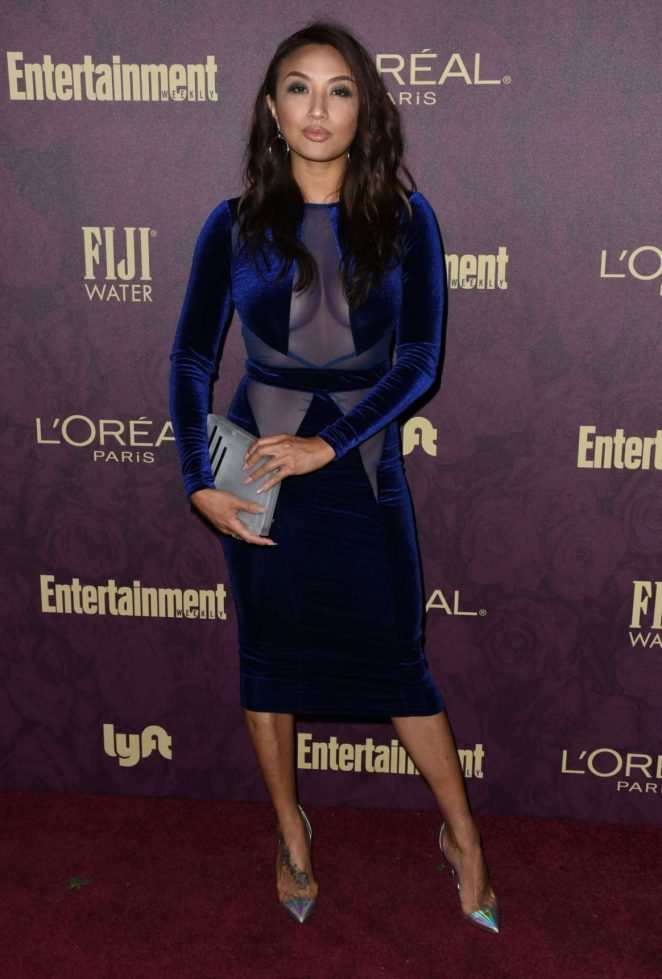 Jeannie Mai – 2018 Entertainment Weekly Pre-Emmy Party in LA