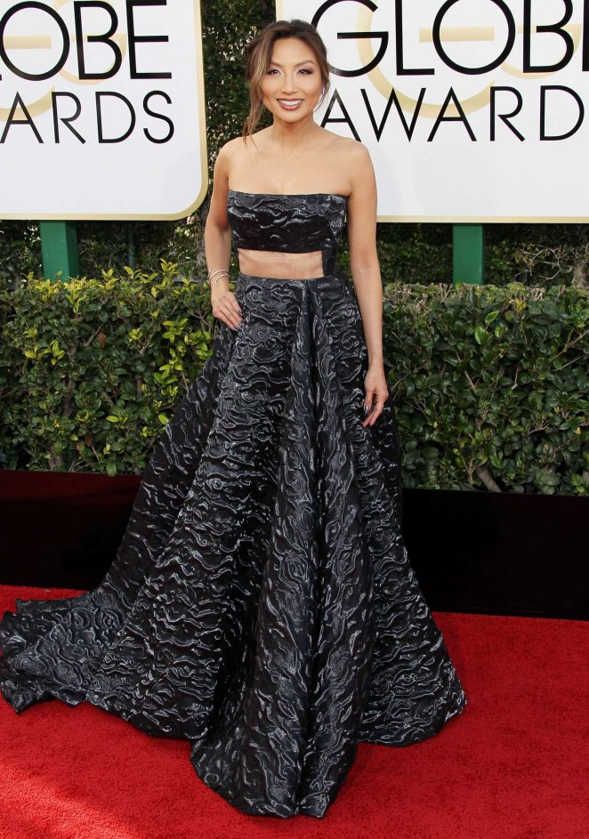 Jeannie Mai - 74th Annual Golden Globe Awards in Beverly Hills
