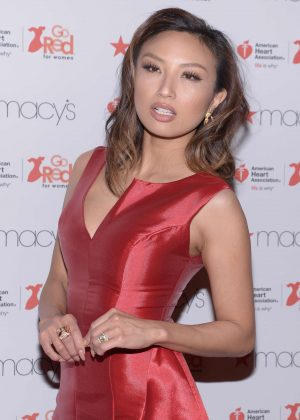 Jeannie Mai - American Heart Association's Go Red for Women Red Dress Collection 2017 at NYFW in NYC