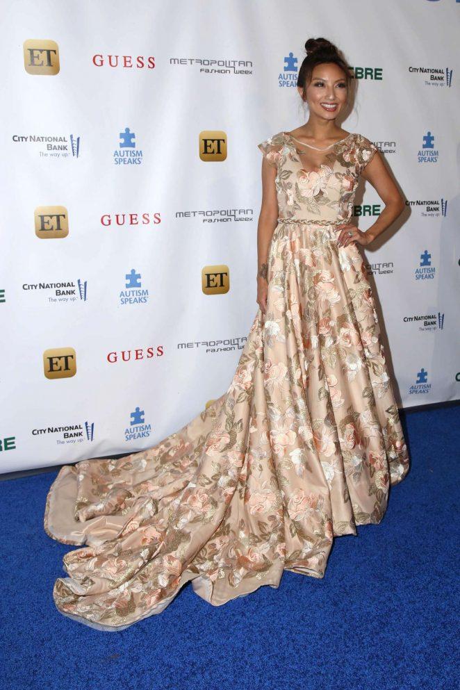 Jeannie Mai - Autism Speaks La Vie En BLUE Fashion Gala in Burbank