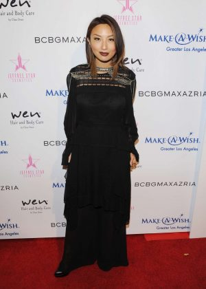Jeannie Mai - BCBG Make-A-Wish Fashion Show in Los Angeles