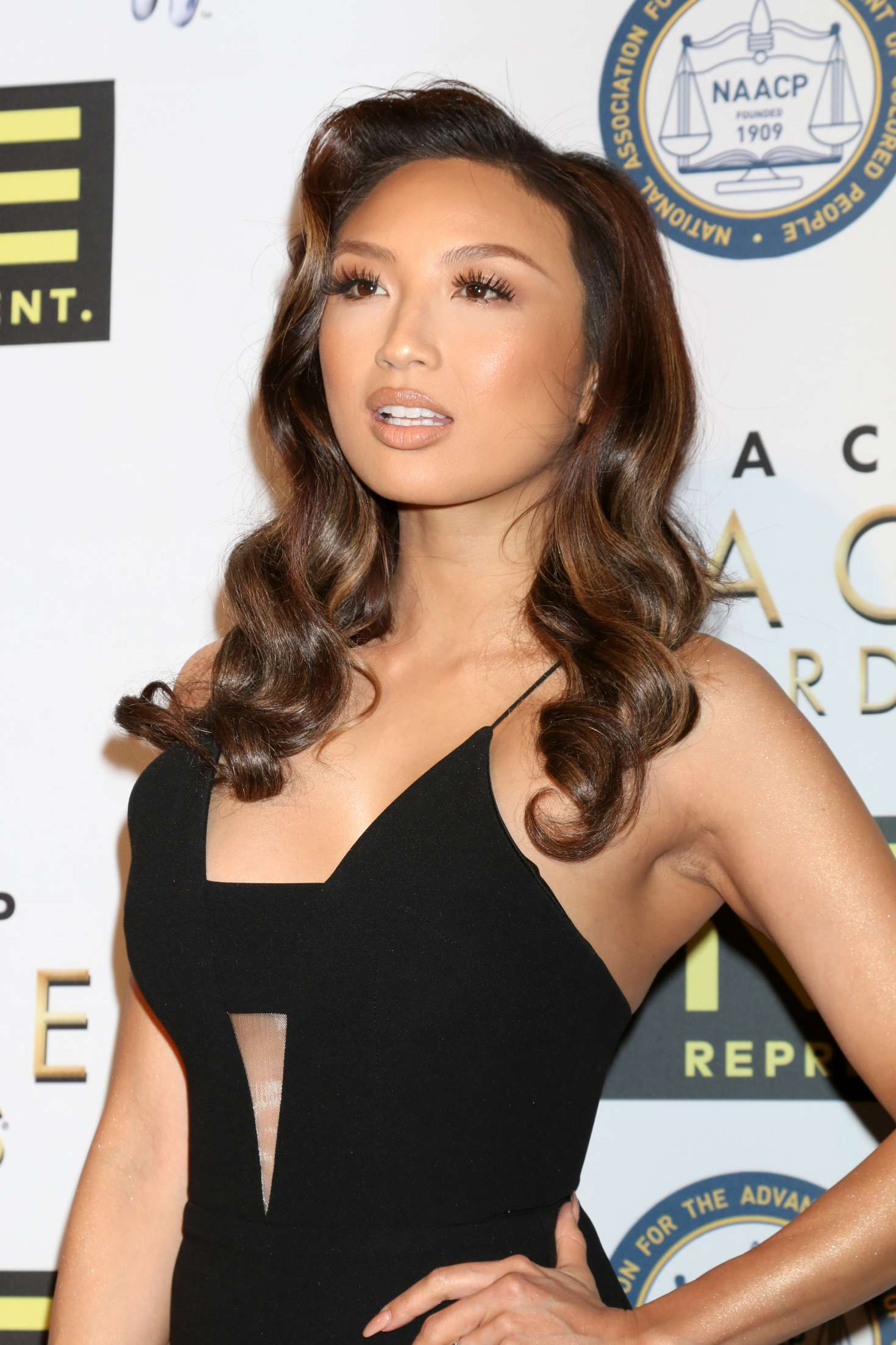 Jeannie Mai - Non-Televised 48th NAACP Image Awards in Pasadena