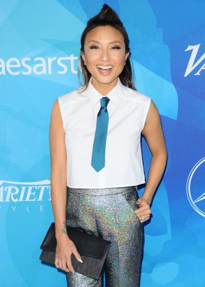 Jeannie Mai - WWD And Variety's Stylemakers Event in Culver City