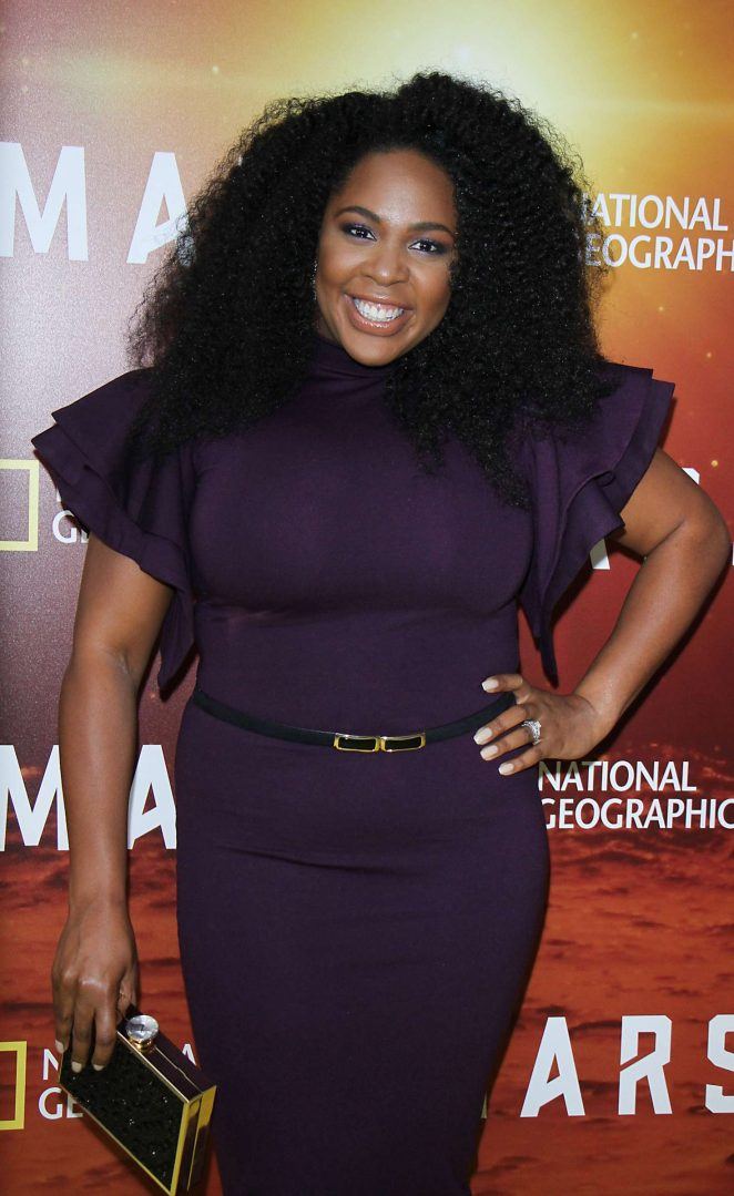 Jedidah Isler - National Geographic Presents 'Mars' Epic Six Part Series Premiere in NYC