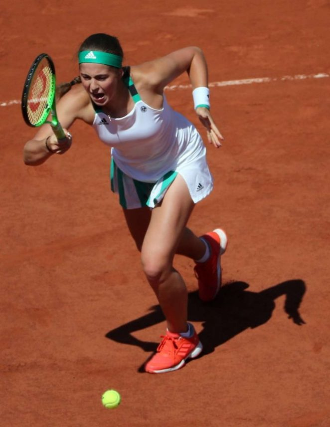 Jelena Ostapenko - 2017 French Open Final in Paris
