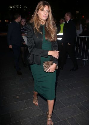 Jemima Khan - Leaving 60th BFI London Film Festival