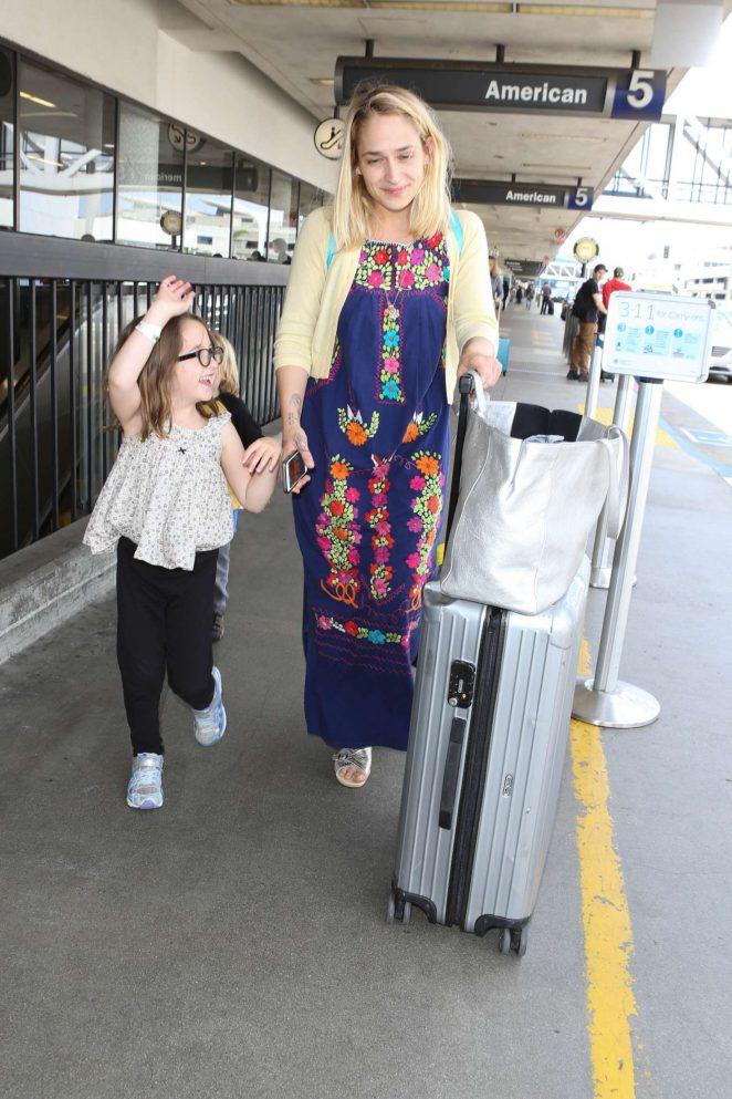 Jemima Kirk at LAX Airport in LA -03