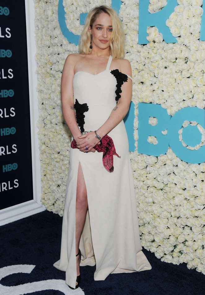 Jemima Kirke: Girls Final Season NY Premiere -02