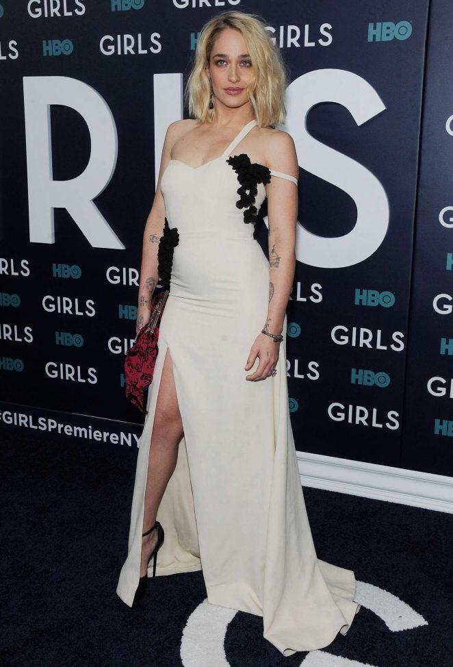 Jemima Kirke: Girls Final Season NY Premiere -03