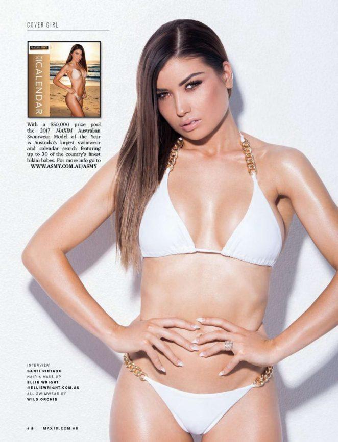 Jemm Moore - Maxim Australia Magazine (November 2016)