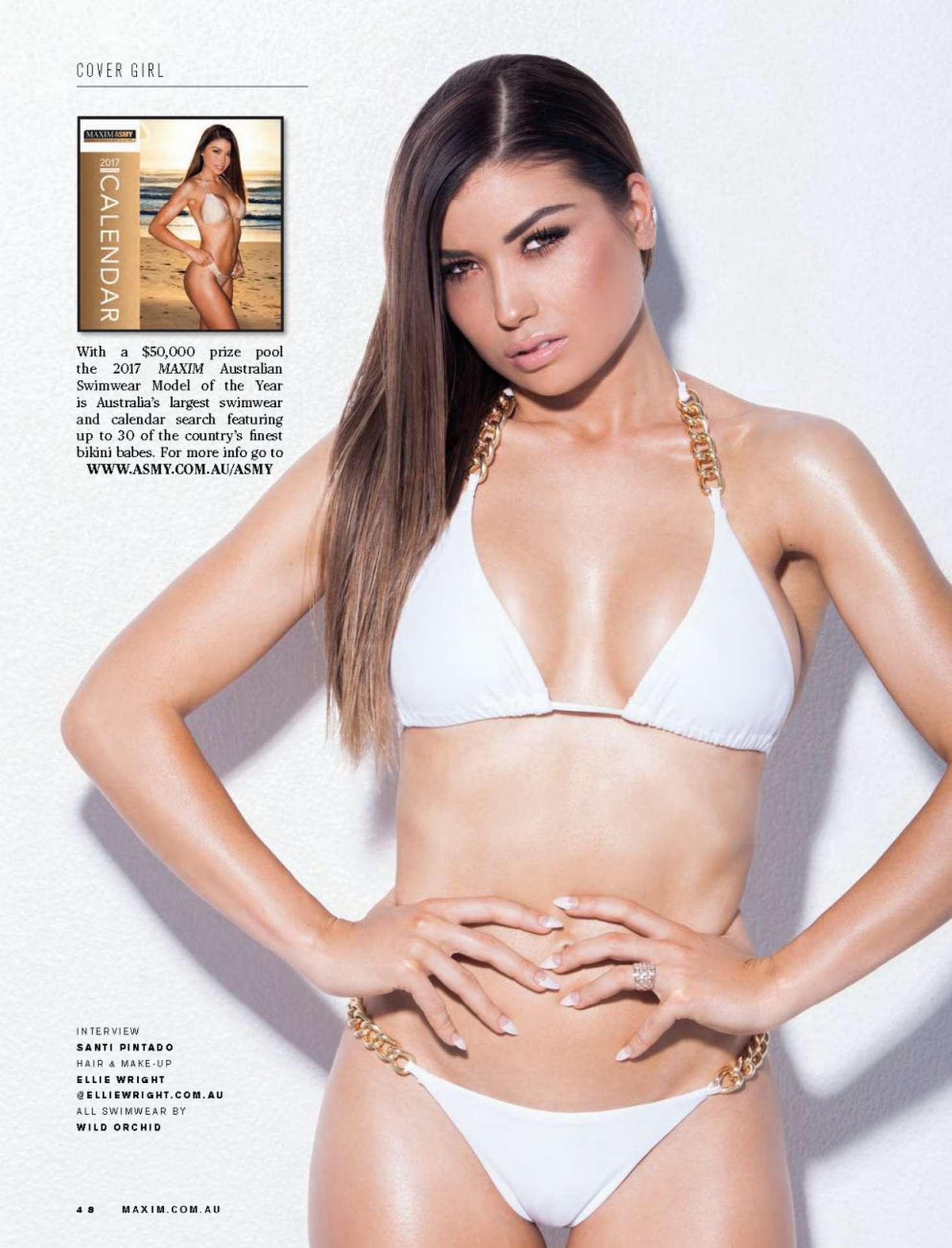 Jemm Moore – Maxim Australia Magazine (November 2016)