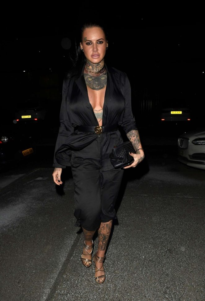 Jemma Lucy at a boxing event at Bowlers Arena in Manchester