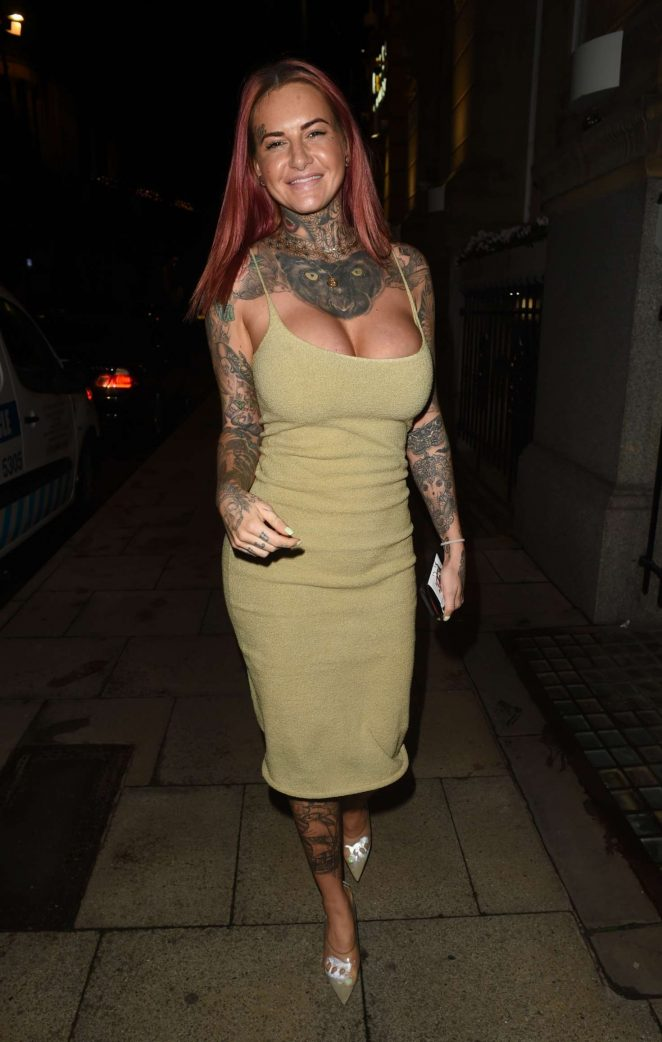 Jemma Lucy at Rosso Restaurant in Manchester