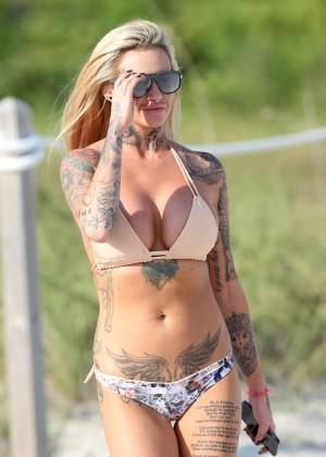 Jemma Lucy in Bikini in Miami