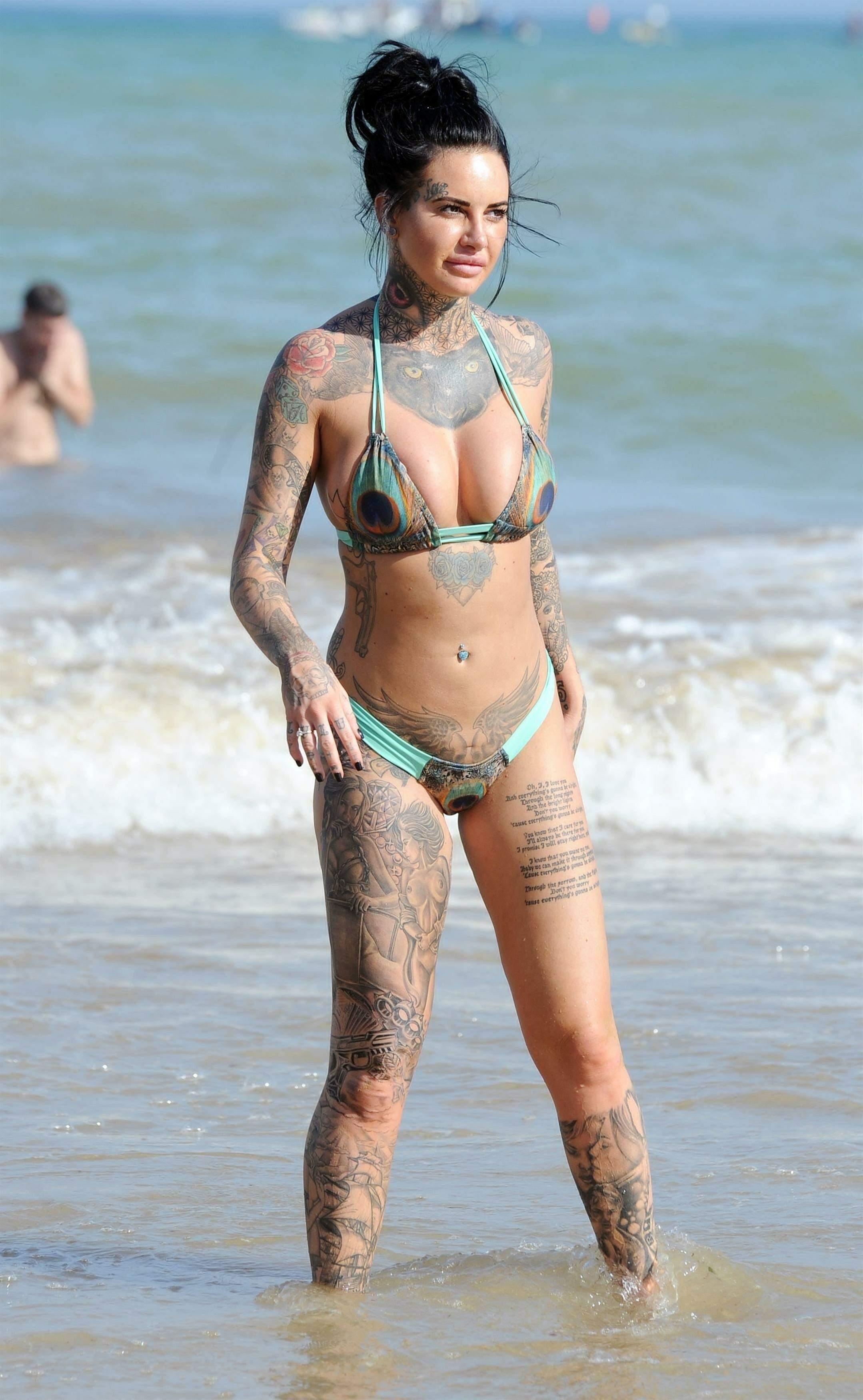 Jemma Lucy - Bikini in Spain