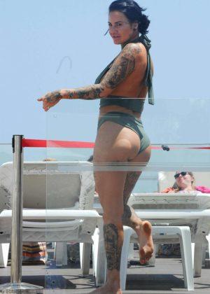 Jemma Lucy - Bikini on holiday in Ibiza