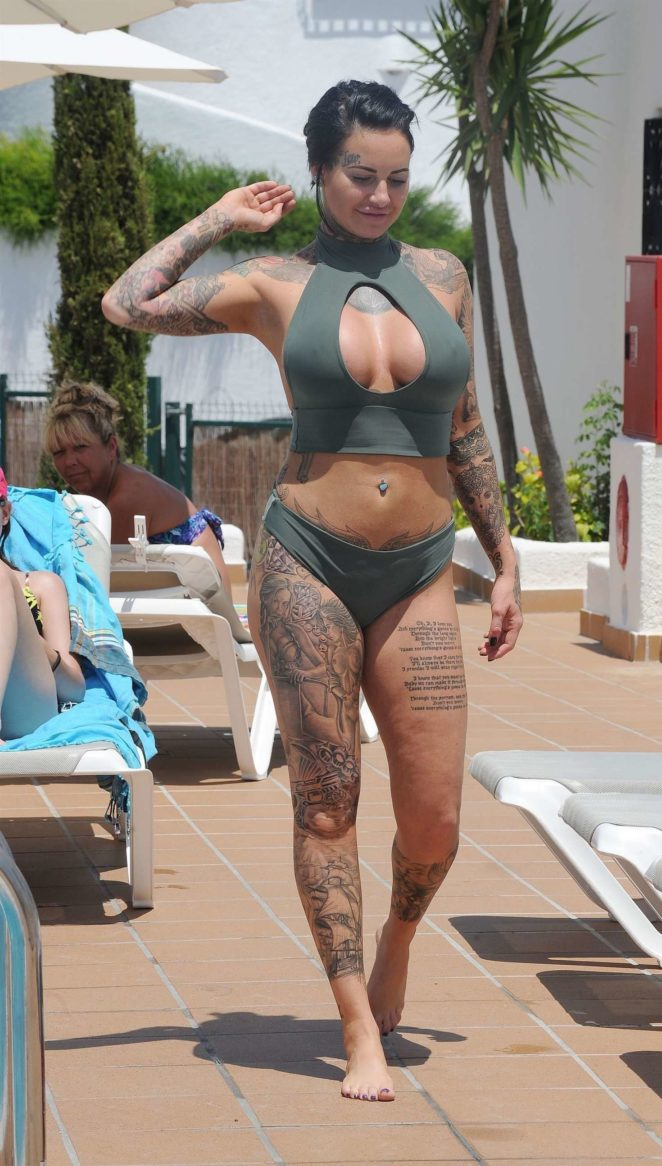 Jemma Lucy - Hot In bikini on holiday in Ibiza