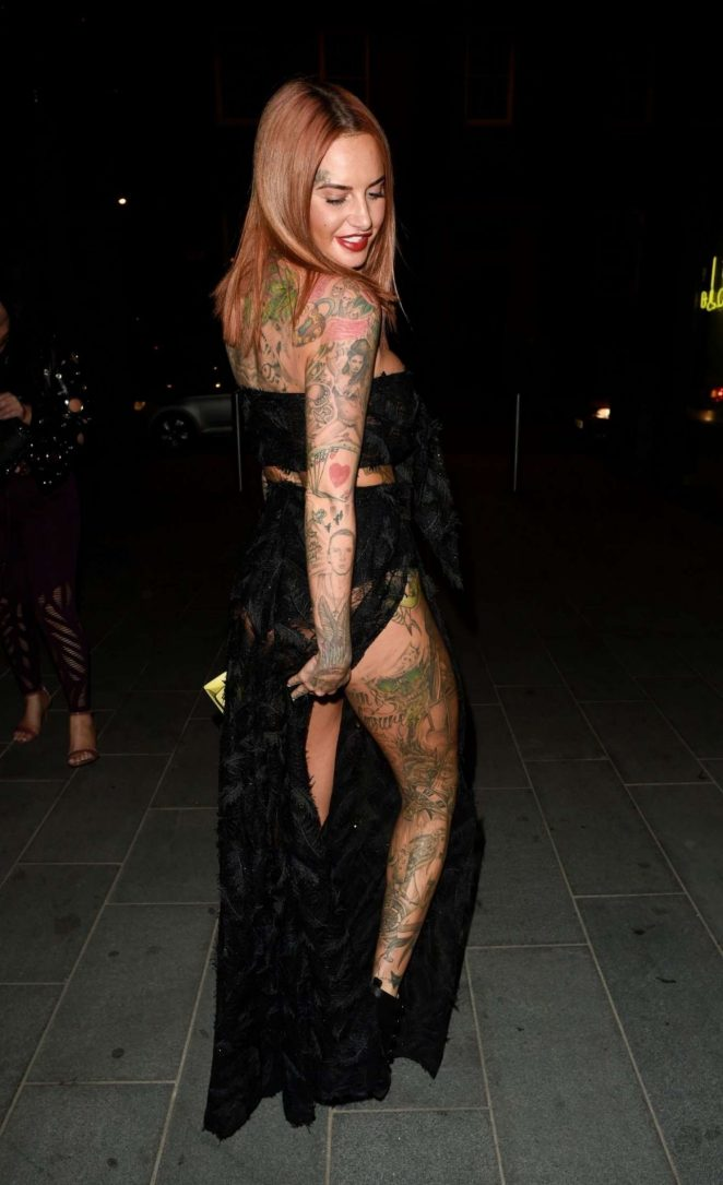 Jemma Lucy – Leggy Night Out In Manchester