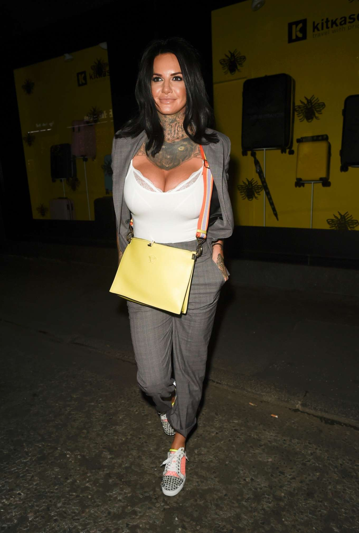 Jemma Lucy - Night out at Goucho Restaurant in Manchester
