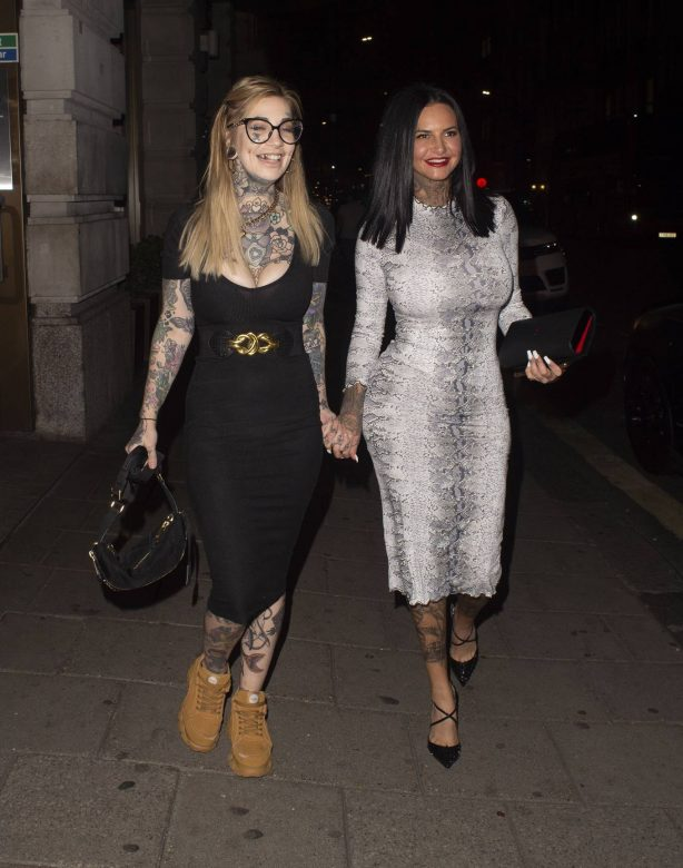 Jemma Lucy - Night out at Novikov in Mayfair - London