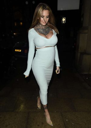 Jemma Lucy  - Night out in Manchester