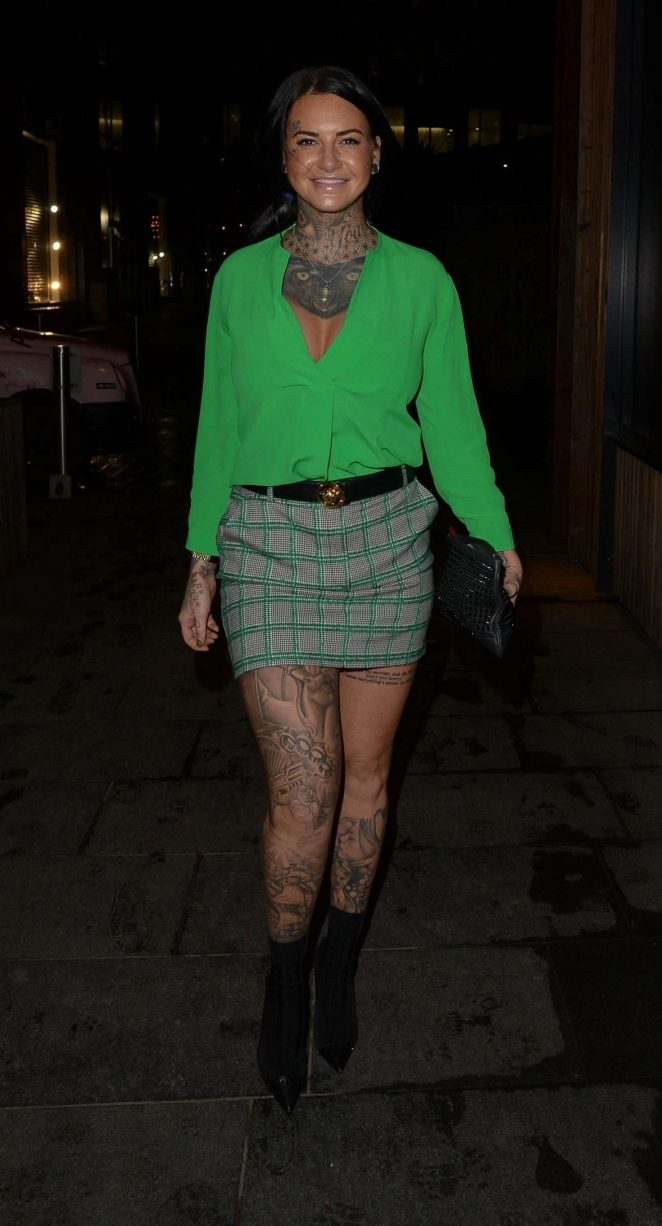Jemma Lucy Night out in Manchester