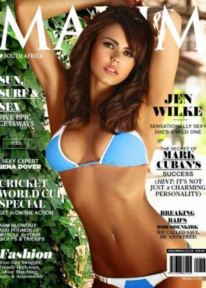 Jen Wilke - Maxim South Africa Cover (March 2015)