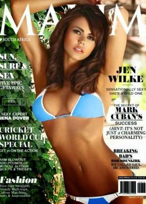 Jen Wilke: Maxim South Africa 2015 -02