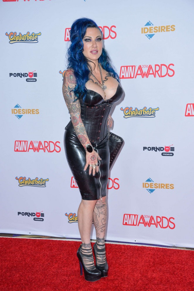 Jenevieve Hexxx - AVN Awards 2016 in Las Vegas