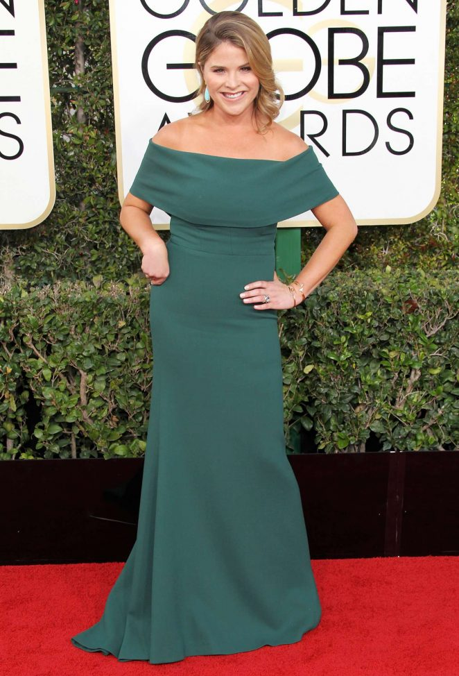 Jenna Bush Hager - 74th Annual Golden Globe Awards in Beverly Hills