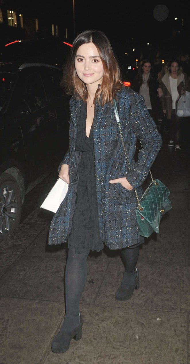 Jenna Coleman at Nordoff Robbins Christmas Carols in London
