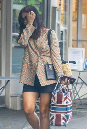 Jenna Coleman - Running errands in Notting Hill - London