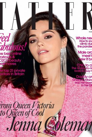 Jenna Coleman - Tatler magazine (October 2020)