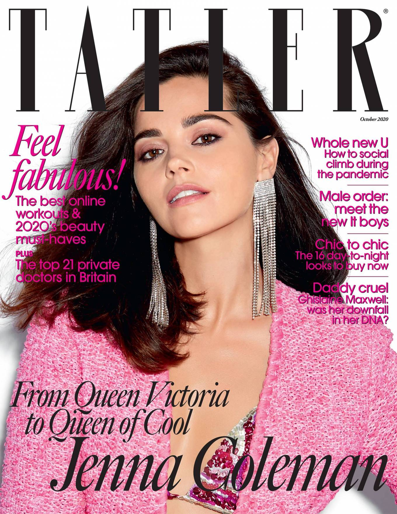 Jenna Coleman - Tatler magazine (October 2020)