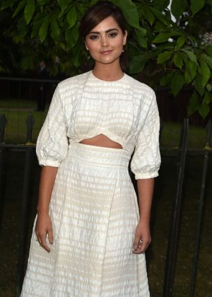 Jenna Coleman - The Serpentine Summer Party 2016 in London