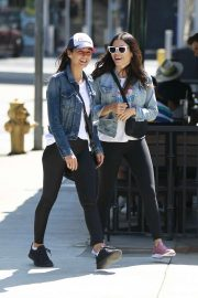 Jenna Dewan and Emmanuelle Chriqui - Out in Studio City