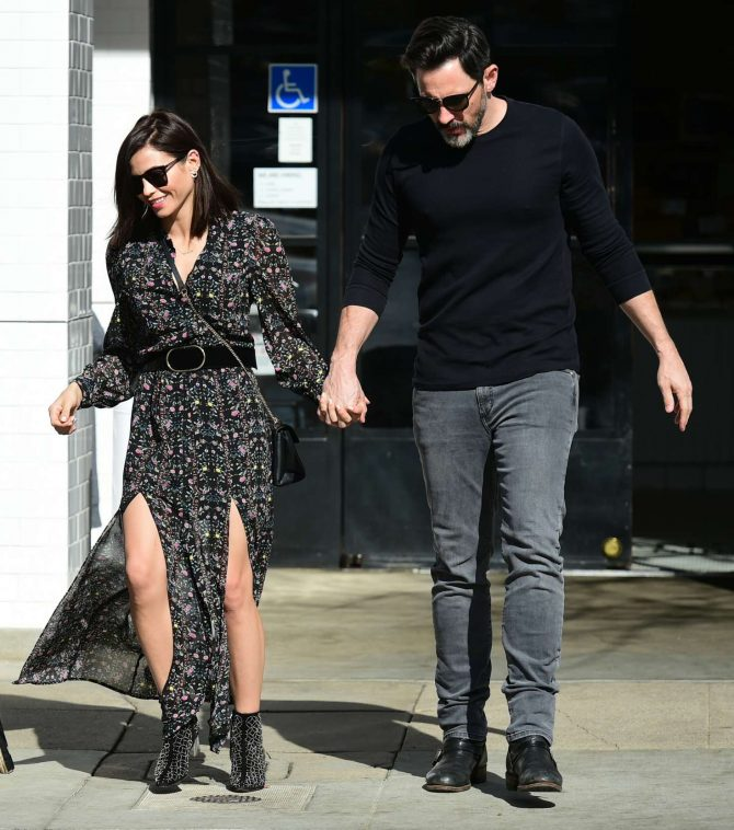 Jenna Dewan and her boyfriend Steve Kazee - Out in Los Angeles