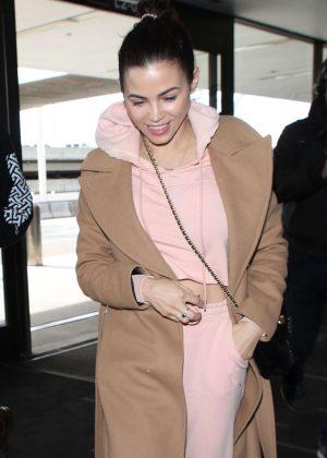 Jenna Dewan - Arrives at LAX International Airport in LA