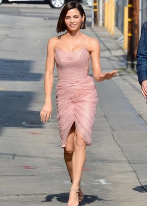 Jenna Dewan - Arriving at Jimmy Kimmel Live! in LA
