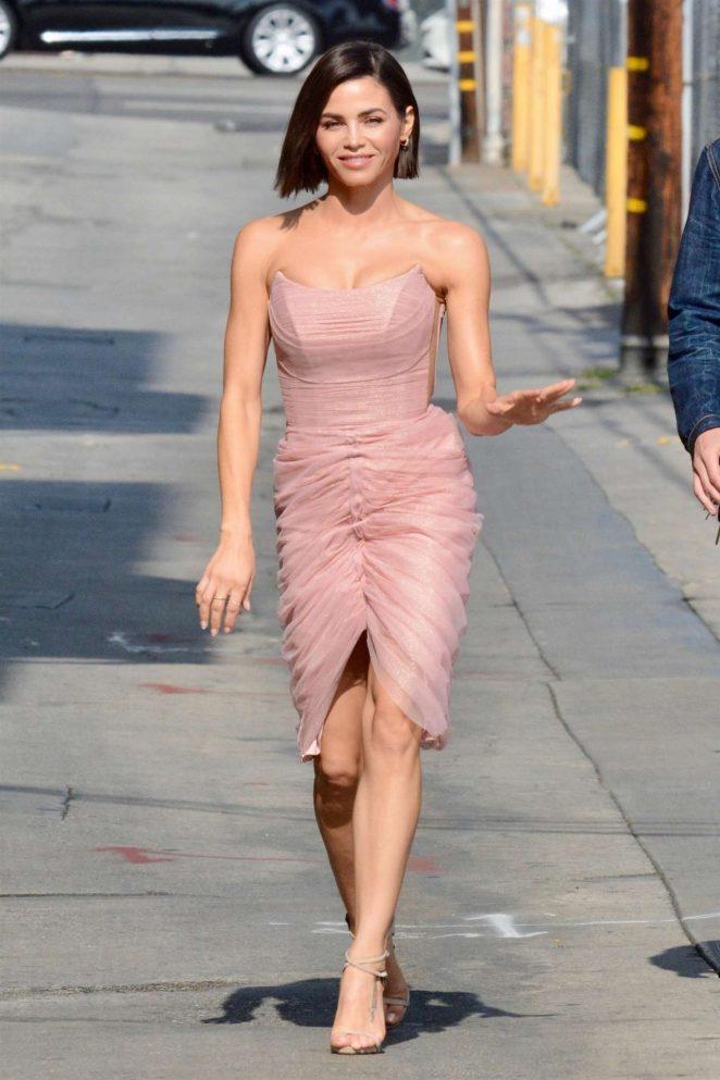 Jenna Dewan - Arriving at Jimmy Kimmel Live! in LA