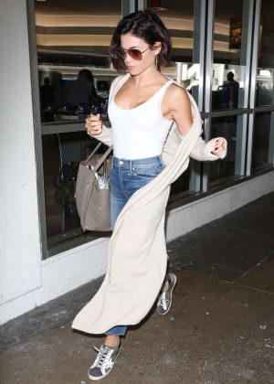 Jenna Dewan - Arriving at LAX Airport in Los Angeles