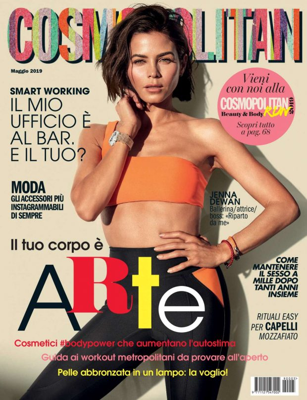 Jenna Dewan - Cosmopolitan Italy Magazine (May 2019)